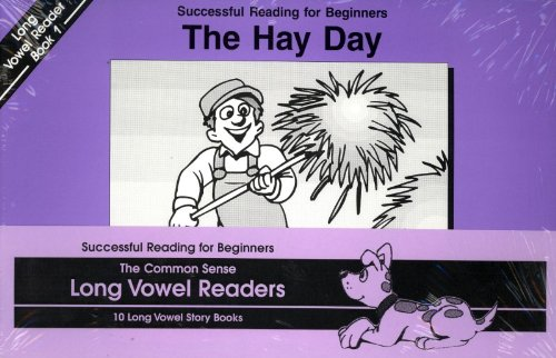 9781880892589: The Common Sense Long Vowel Readers - 10 Long Vowel Story Books (Successful Reading for Beginners)