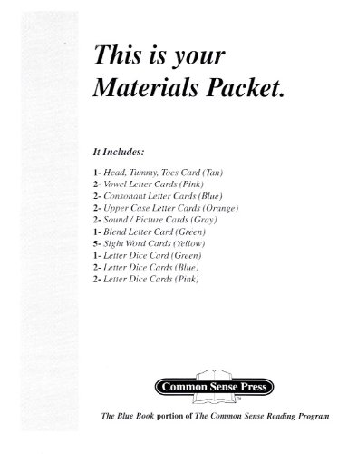 9781880892664: The Blue Book Materials Packet