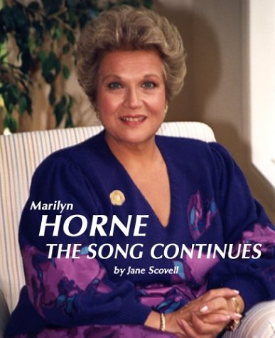 Marilyn Horne The Song Continues: Horne, Marilyn