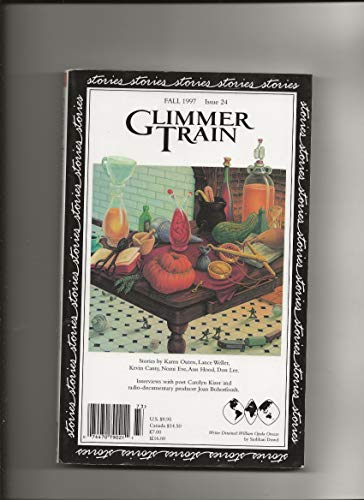 Glimmer Train Stories - Fall 1997- Issue: Burmeister-Brown, Susan (editor);