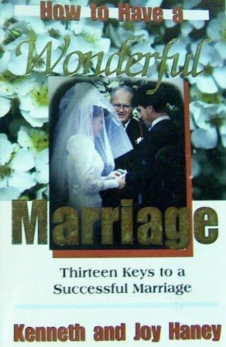 9781880969304: Wonderful Marriage