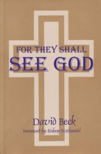 9781880971086: For They Shall See God