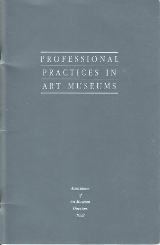 9781880974018: Professional Practices in Art Museums
