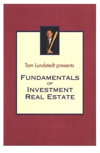 9781881049029: Fundamentals of Investment Real Estate (Tom Lundstedt Audio Seminars)