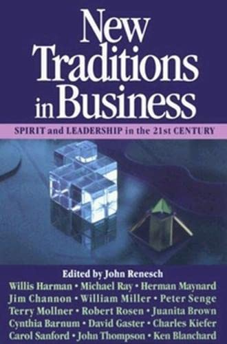 9781881052036: New Traditions in Business: Spirit and Leadership in the 21st Century.