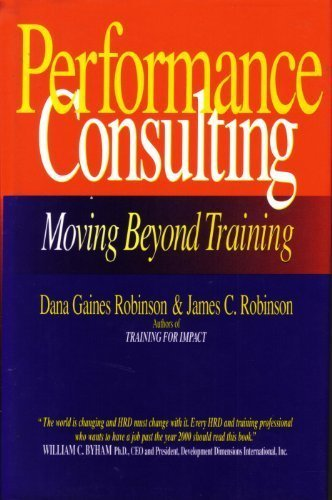9781881052302: Performance Consulting (CL)