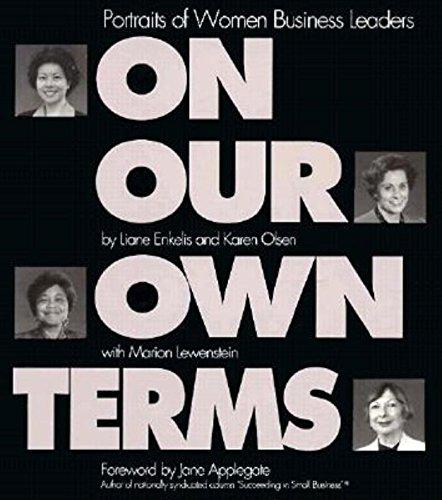 On Our Own Terms : Portraits of: Enkelis, Liane; Olsen,