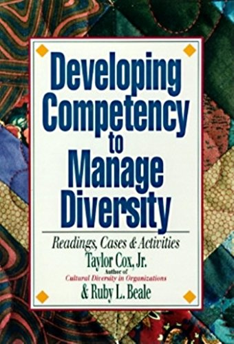 9781881052968: Developing Competency to Manage Diversity: Readings, Cases & Activities
