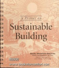 9781881071051: A Primer on Sustainable Building