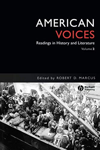 American Voices, Volume 2: Readings in History