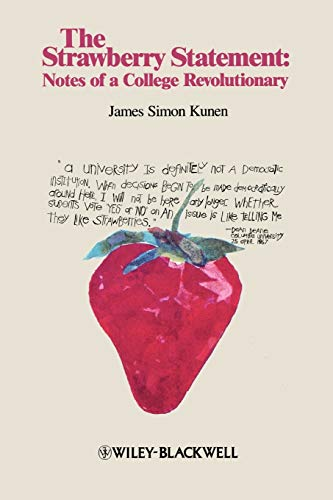 9781881089520: The Strawberry Statement: Notes of a College Revolutionary