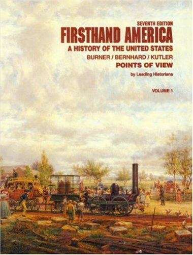 Firsthand America (1881089746) by David Burner; Virginia Bernhard; Stanley Kutler