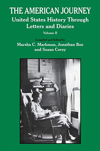 American Journey: United States History Through Letters: Jonathan Boe, Susan