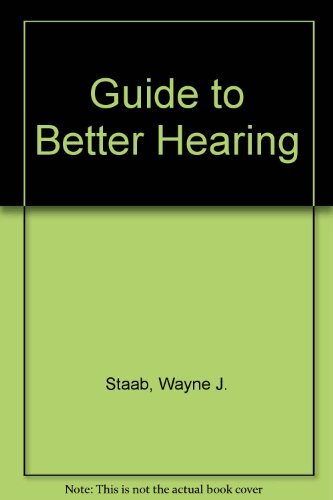 9781881148081: Guide to Better Hearing
