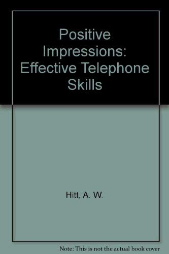 9781881183006: Positive Impressions: Effective Telephone Skills