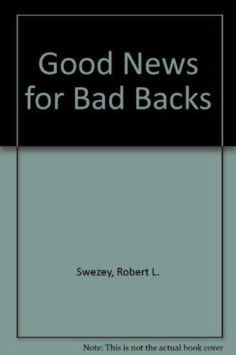 9781881206002: Good News for Bad Backs