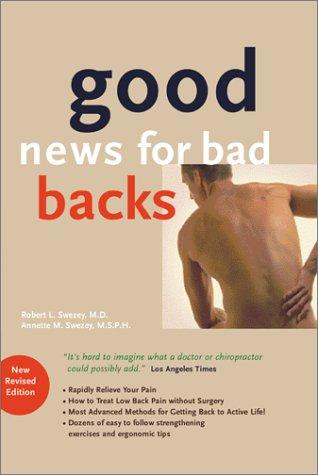 9781881206132: Good News for Bad Backs