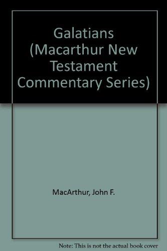 9781881207627: Galatians (Macarthur New Testament Commentary Series)