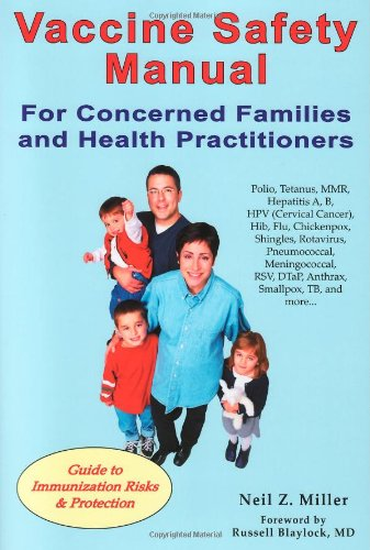 9781881217350: Vaccine Safety Manual for Concerned Families and Health Practitioners