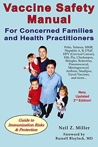 9781881217374: Vaccine Safety Manual for Concerned Families and Health Practitioners, 2nd Edition: Guide to Immunization Risks and Protection