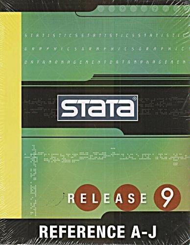 Stata Reference A-j (STATA RELEASE 9): STATA