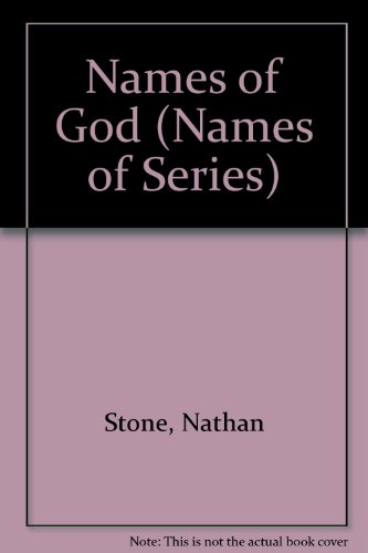 9781881258544: Names of God (Names of Series)