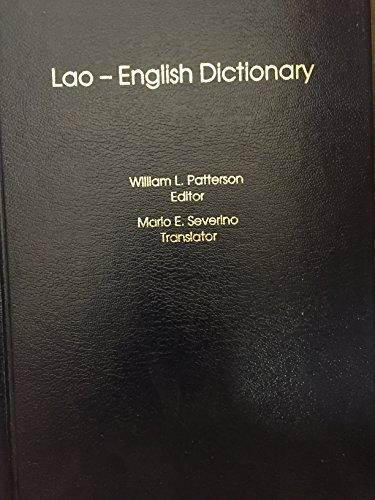 9781881265177: Lao-English Dictionary (English and Lao Edition)