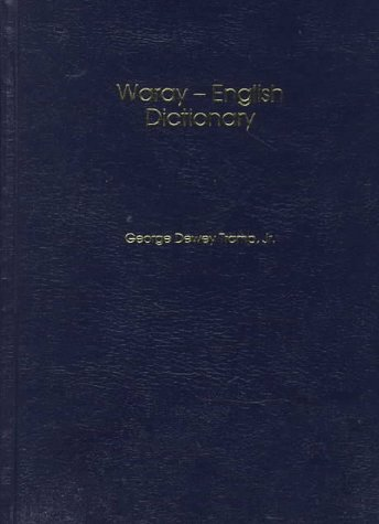 9781881265351: Dic Waray-English Dictionary