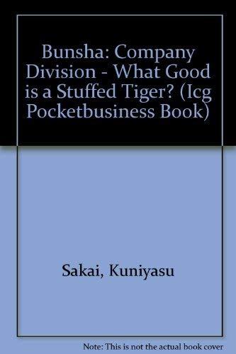 9781881267034: Bunsha: Improving Your Business Through Company Division (Icg Pocketbusiness Book)
