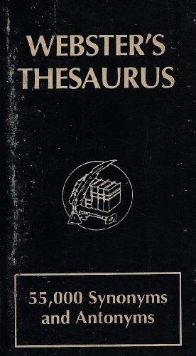 9781881275015: Webster's Thesaurus