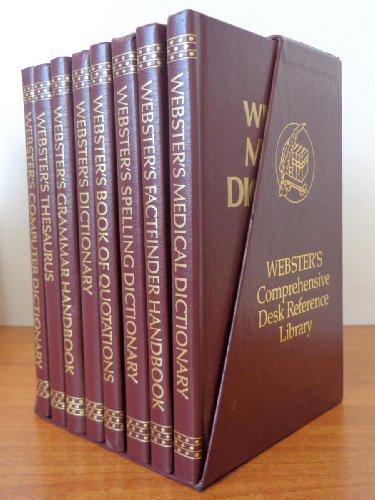 Webster's Comperhensive Desk Reference Library-8 Vol. Set (1881275094) by Merriam-Webster