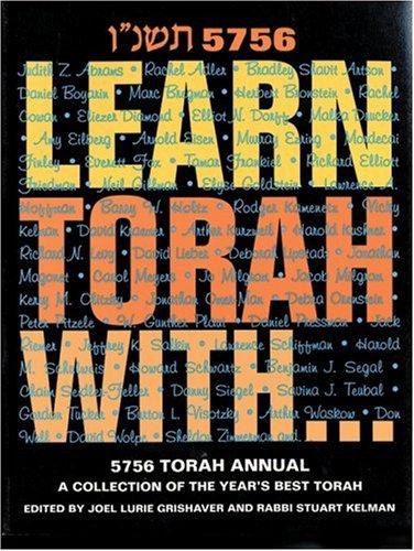 9781881283300: Learn Torah With...5756 Torah Annual