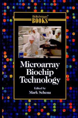 9781881299370: Microarray Biochip Technology