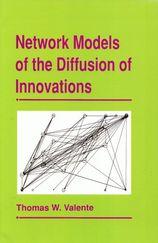 9781881303220: Network Models of the Diffusion of Innovations (Quantitative Methods in Communication Subseries)