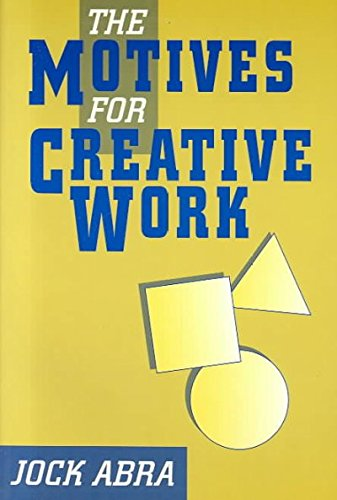 9781881303930: Motives for Creative Work (Perspectives on Creativity)