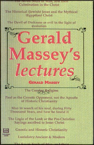9781881316206: Gerald Massey's Lectures