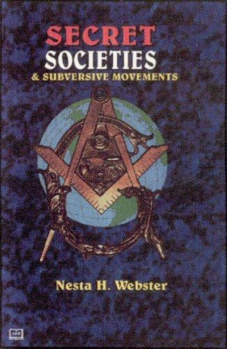 9781881316886: Secret Societies and Subversive Movements