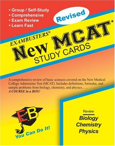 9781881374817: Exambusters MCAT Study Cards