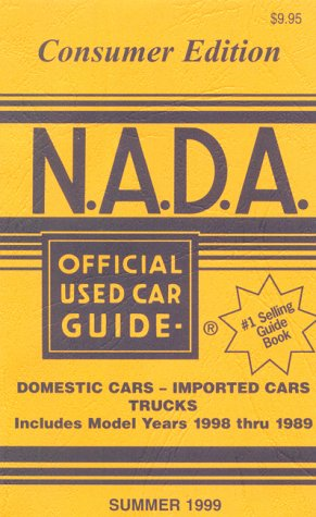 nada official used car guide abebooks rh abebooks com nada official used car guide book nada official used car guide se edition