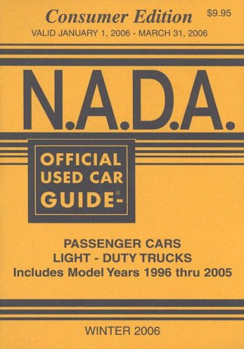 9781881406556: N.A.D.A. Official Used Car Guide (NADA Official Used Car Guide: Consumer Edition)