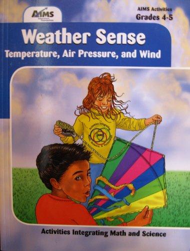 9781881431961: Weather sense: Temperature, air pressure and wind