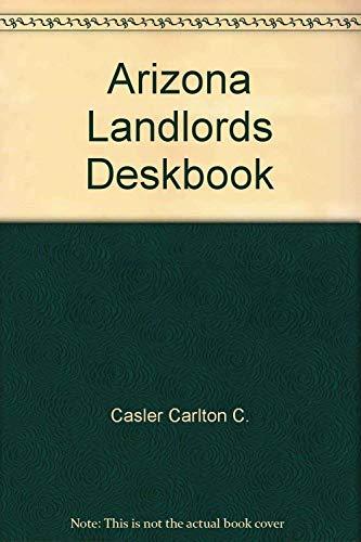 9781881436003: Arizona Landlords Deskbook