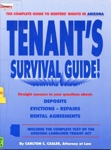 9781881436010: Tenant's Survival Guide for Arizona Renters