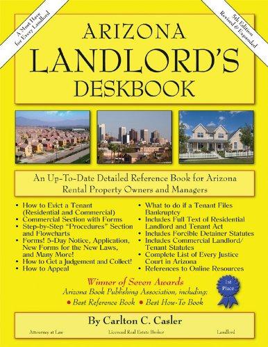 9781881436027: Arizona Landlord's Deskbook