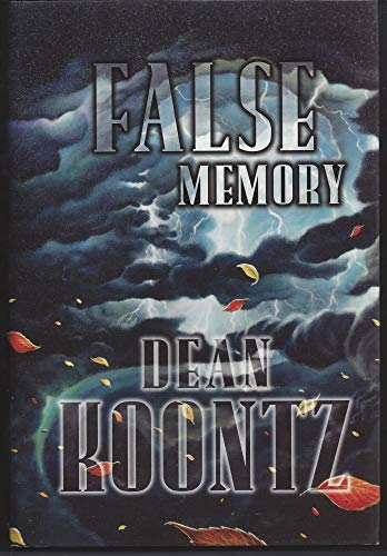 False Memory [Signed Deluxe Limited Edition]: Koontz, Dean