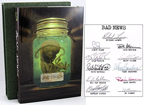 Bad News - SIGNED LIMITED EDITION COPY: Laymon, Richard