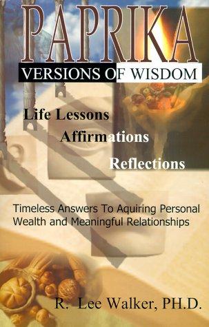 9781881524588: Paprika - Versions of Wisdom