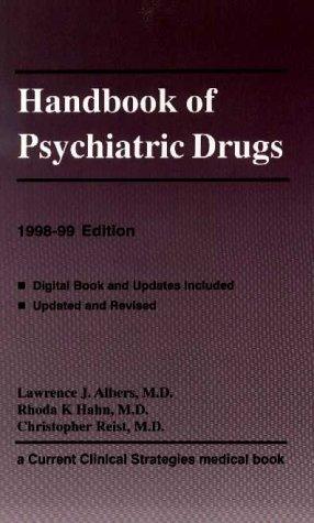 9781881528548: Handbook of Psychiatric Drugs