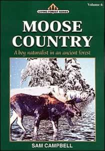 Moose Country (Living Forest Series, Volume 6): Sam Campbell