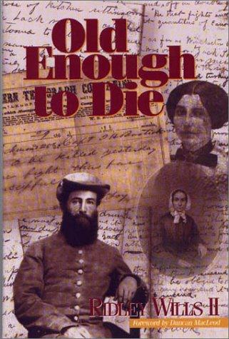 9781881576815: Old Enough to Die